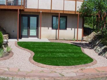 Artificial Grass Photos: Installing Artificial Grass New Orleans, Louisiana Lawn And Garden, Small Front Yard Landscaping
