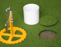 Circle Cutter Synthetic Grass