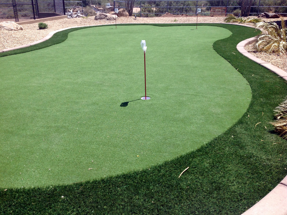 Artificial Turf Citrus Heights, California Home Putting ... on Artificial Turf Backyard Ideas id=72752