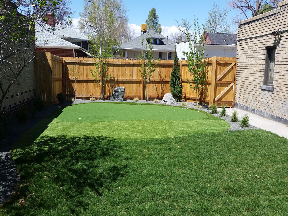 Artificial Turf Cost Birmingham, Alabama Backyard Deck ... on Artificial Turf Backyard Ideas id=99885