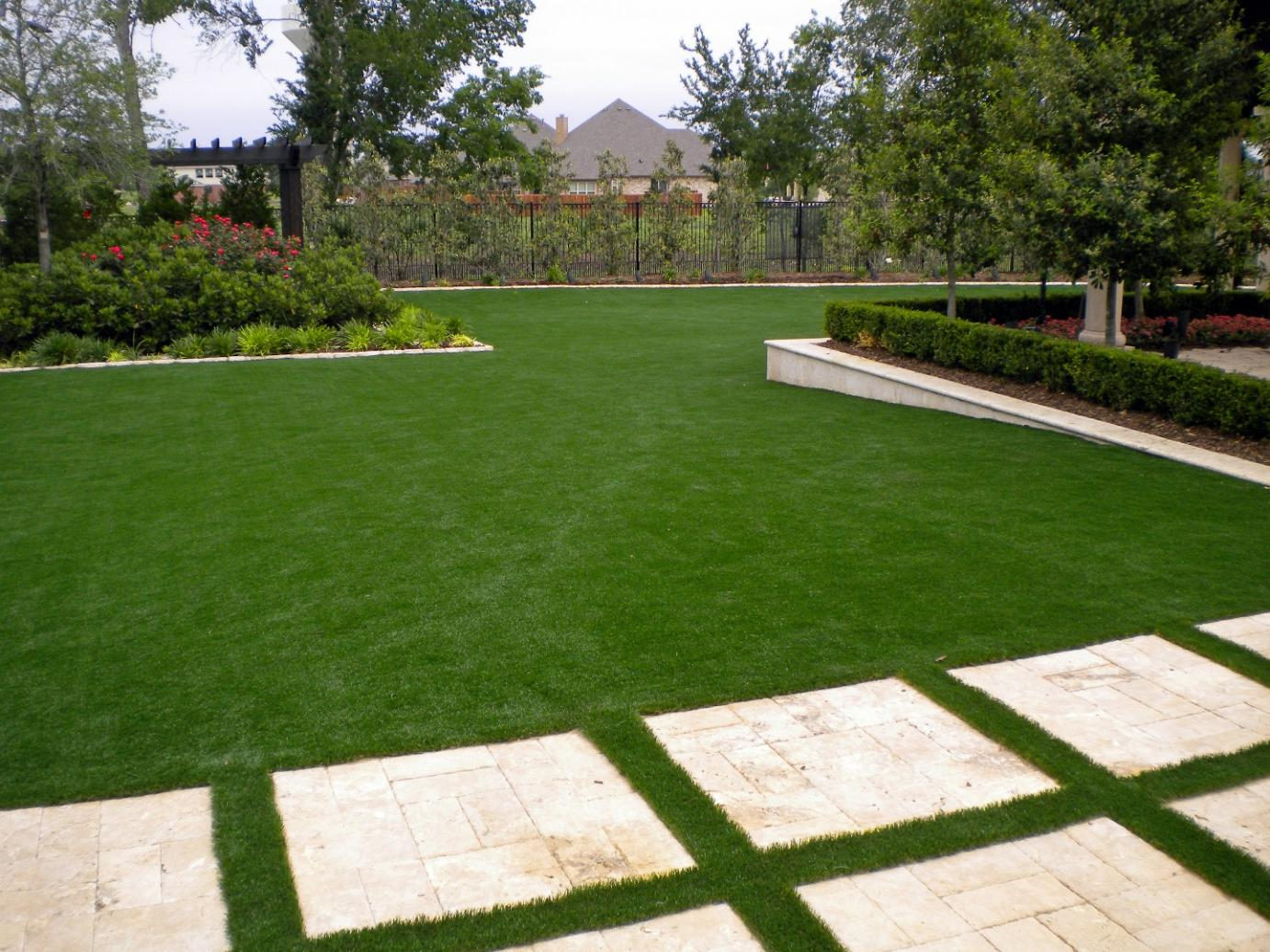 Synthetic Turf Miami, Florida Landscape Rock, Small ... on Artificial Turf Backyard Ideas id=52598